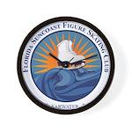 FSC Color Logo Wall Clock