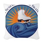 FSC Color Logo Woven Throw Pillow