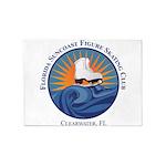 FSC Color Logo 5'x7'Area Rug