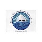 FSCFSC Logo 5'x7'Area Rug