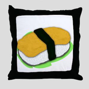 Tamago Nigiri Throw Pillow