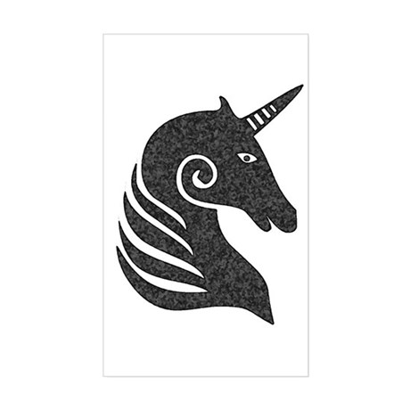 Unicorn Rectangle Sticker