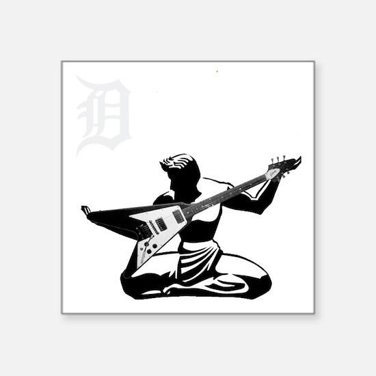 "Detroit Rock City Square Sticker 3"" x 3"""