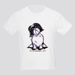 Shih Tzu Sit Pretty Kids Light T-Shirt