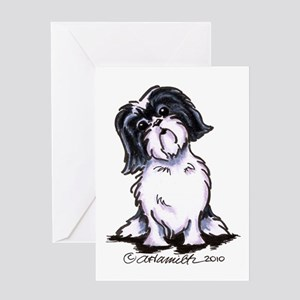 Shih Tzu Sit Pretty Greeting Card