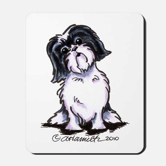 Shih Tzu Sit Pretty Mousepad