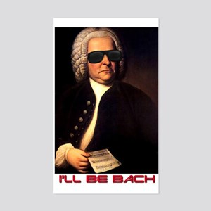 I'll Be Bach Rectangle Sticker