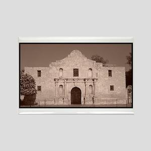 Alamo Rectangle Magnet