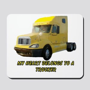 Yellow Truck Mousepad