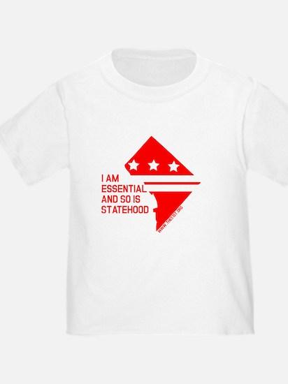 I AM ESSENTIAL-RED T-Shirt