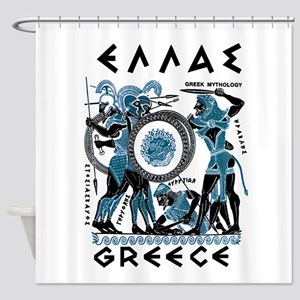 Greek Mythology Shower Curtain