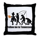 Follow Me To Tennessee Throw Pillow
