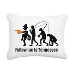 Follow Me To Tennessee Rectangular Canvas Pillow