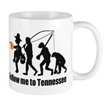 Follow Me To Tennessee Mugs