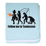 Follow Me To Tennessee baby blanket