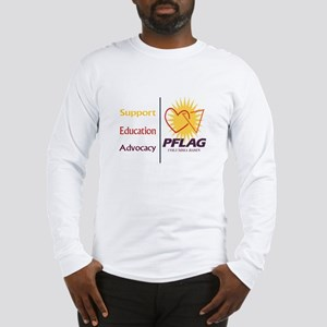 Support Education Advocacy - PFLAG Long Sleeve T-S