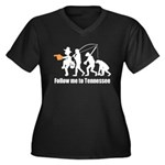 Follow Me To Tennessee Plus Size T-Shirt