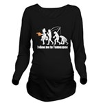 Follow Me To Tennessee Long Sleeve Maternity T-Shi