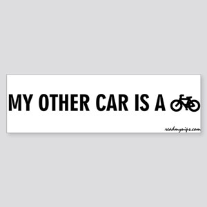 My Other Car Is A Bicycle - Bumper Sticker