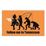 Follow Me To Tennessee Sticker