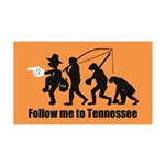 Follow Me To Tennessee Wall Decal