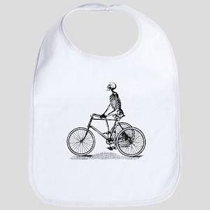Skeleton on Bicycle Bib