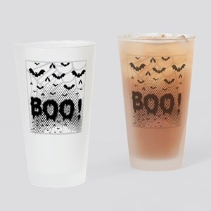 Bats from Hell Drinking Glass