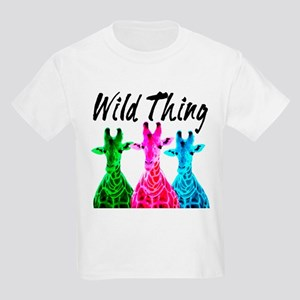 WILD GIRAFFE Kids Light T-Shirt