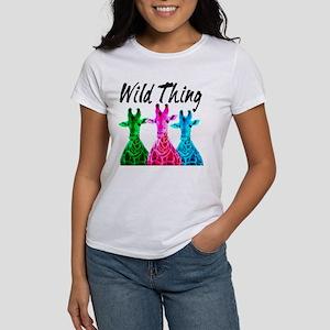 WILD GIRAFFE Women's T-Shirt
