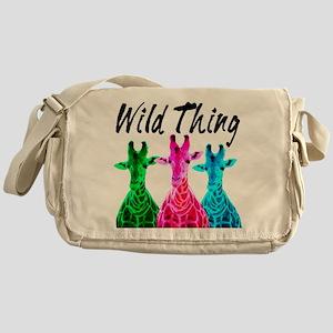 WILD GIRAFFE Messenger Bag