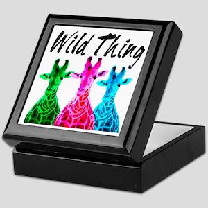 WILD GIRAFFE Keepsake Box