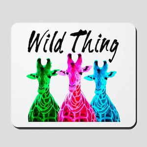 WILD GIRAFFE Mousepad
