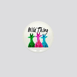WILD GIRAFFE Mini Button