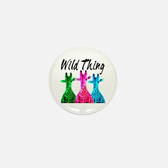 WILD GIRAFFE Mini Button