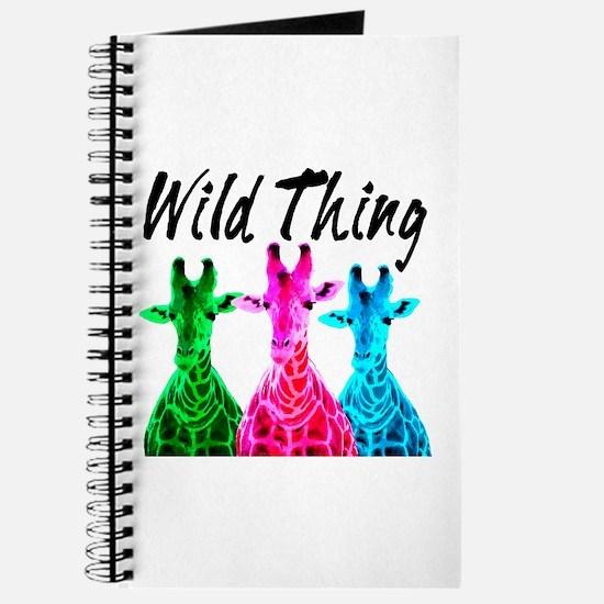 WILD GIRAFFE Journal