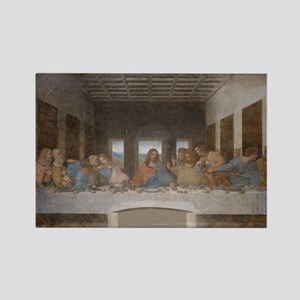Last Supper by Leonardo da Vinci Rectangle Magnet