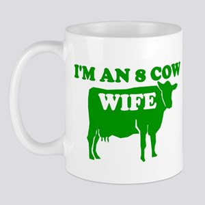 I AM AN 8 COW WIFE MORMON SHI Mug