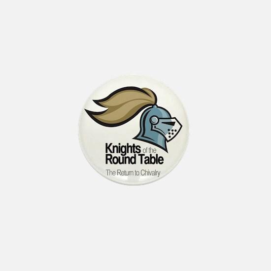knights-logo-shirt-BLACK Mini Button