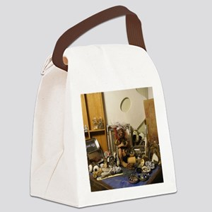 Old Shaman Lady Fairy of Inspirat Canvas Lunch Bag
