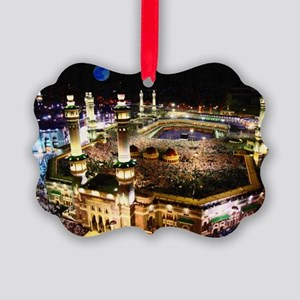 holly mecca during hajj Picture Ornament