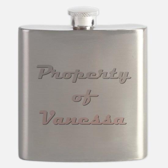 Property Of Vanessa Female Flask