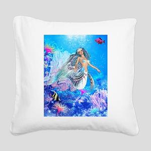 Best Seller Merrow Mermaid Square Canvas Pillow