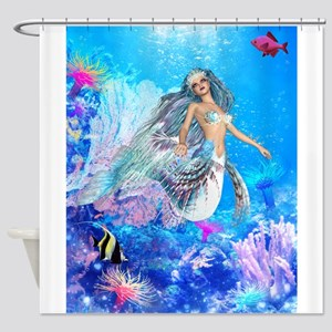 Best Seller Merrow Mermaid Shower Curtain