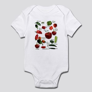 Hot Chili Peppers Infant Bodysuit