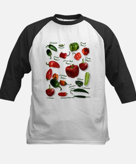 Hot Chili Peppers Kids Baseball Jersey