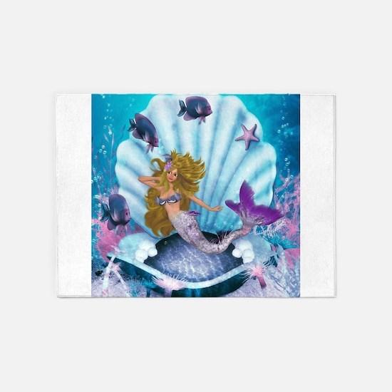 Best Seller Merrow Mermaid 5'x7'Area Rug