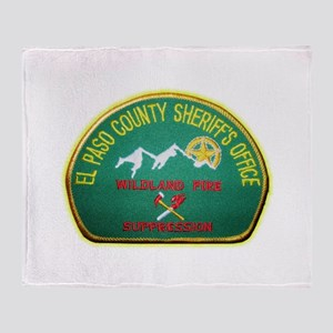 El Paso County Sheriff Fire Suppresion Throw Blank