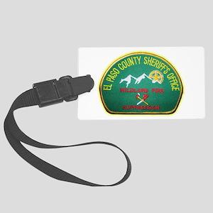 El Paso County Sheriff Fire Suppresion Luggage Tag