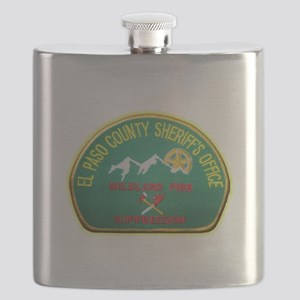 El Paso County Sheriff Fire Suppresion Flask