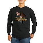 Carrion Luggage Long Sleeve Dark T-Shirt